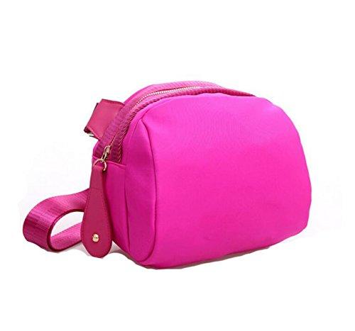 Borse A Tracolla Messenger Borse Multitasche Crossbody Impermeabile Borse Pink