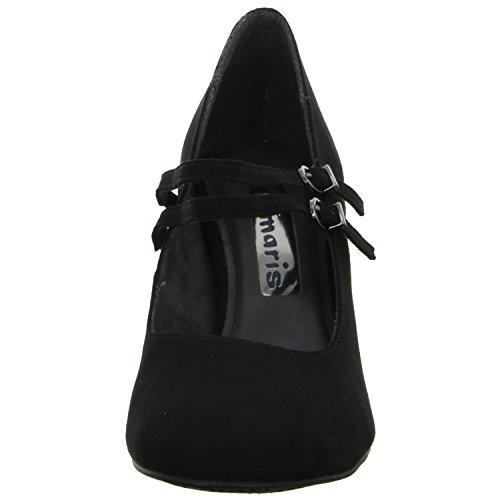 Tamaris1-1-24416-37/001 - Scarpe con cinturino alla caviglia Donna Black