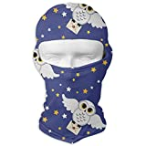 Sdltkhy Owl Delivery Full Face Mask Sun Dust Wind Protection Durable Breathable Seamless Face Mask Bandana Multicolor15