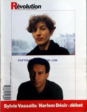 REVOLUTION [No 668] du 17/12/1992 - L'EUROPERE NOEL PAR DE LA HIGUERA - G. STREIFF - LE DERNIER NOEL DES MAJORETTES PAR HASSAOU - H. AMBLARD - CARALI - AL CHASSE A L'ENFANT PAR MATHIEU - LE TEMPS DES GUERRES PAR DIMET - J.P. JOUARY - L'AMERIQUE LATINE DANS SON ART PAR COURCELLES - LIVRE - B. EPIN - EUROPE - LA CONFIANCE QUI EST LA MIENNE PAR RENE PIQUET - J. DIMET - BANANA SPLIT PAR ROTHOIS - RESITUER LA PEDAGOGIE PAR PERGOUX - JAPON - L'ESPRIT D'OHNO FLOTTE SUR L'ENTREPRISE PAR O