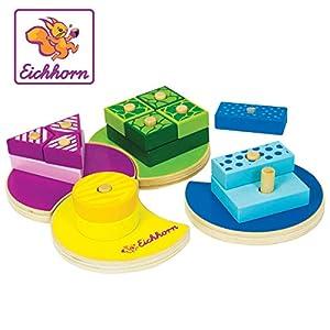 Eichhorn 100002234 Juguete de Habilidad motora Madera - Juguetes de Habilidades motoras, Madera, Child, Niño/niña, 1 año(s), 4 año(s)
