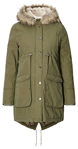 Noppies Jacket Malin, Veste de Maternité Femme Vert - Grün (Army C190)
