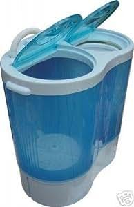 Mini baignoire à laver jumelle de machine portable compact. Caravane