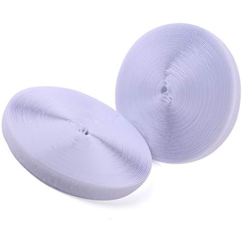 Tout Simplement Le Blanc Bande Velcro et Rembourrage ~ 100 mm de Large Coudre ~ refermable Coussinets de Tissu pour la Couture sur