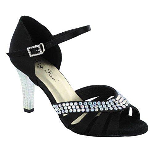 Scarpe da ballo latino per gli adulti /Tacco alto da ballo scarpe da donna/ Lady morbido scarpe da ballo online alla fine del A