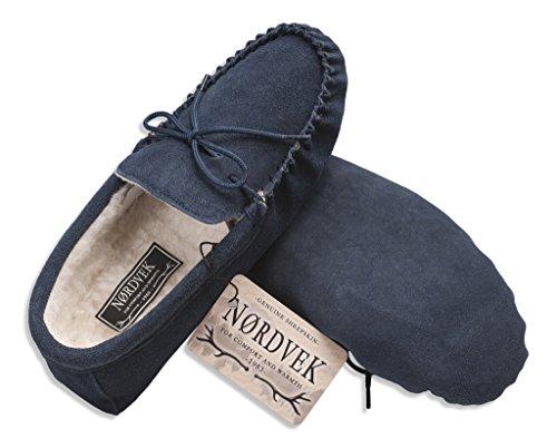 Nordvek, Pantofole uomo Blu marino