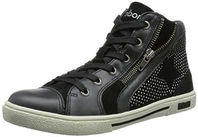 Gabor girls Tami 77 460 01, Mädchen Chukka Boots, Schwarz (black), EU 39