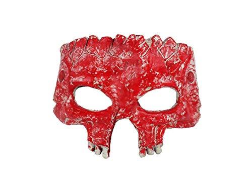 lloween Party Horror Schädel Form Dekoration Verwenden Maske (Rot),A,A ()
