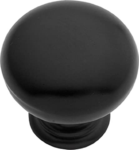 Hickory Hardware PA1217-1 MB In. Modus Matte Black Cabinet Knob