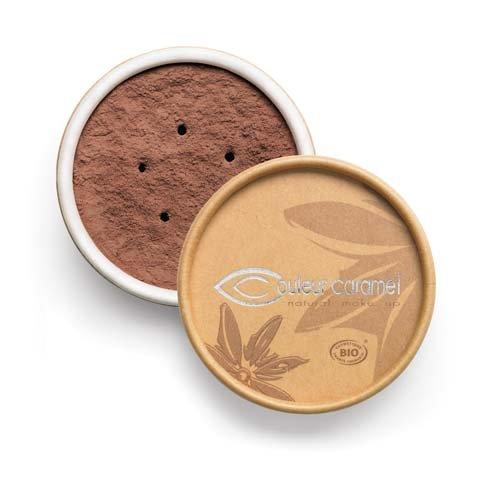 Couleur Caramel Fond de teint Minéral poudre libre 09 Brun foncé 6g
