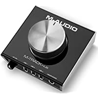 M-Audio M-Track Hub USB Hub Monitoring Interface with Built-In 3-Port Hub and Simple Ergonomic Operation