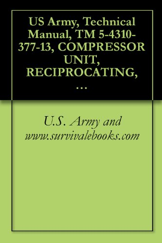 US Army, Technical Manual, TM 5-4310-377-13, COMPRESSOR UNIT, RECIPROCATING, 5 CFM, 1 ELECTRIC MOTOR DRIVEN, MODEL E23CV7A, (NSN 4310-01-165-6676), military manauals, special forces (English Edition) -