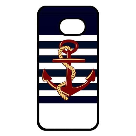 Hard Skin Case Cover Shell for Samsung Galaxy S7, Anchor Sailing Theme Dust Proof Lightweight Cases for Women