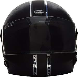 Plx Devices Kiwi Neutron Ultra-Durable Full Face Helmet (Black, M)