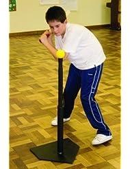 Softball béisbol rrounders Skill pelota de entrenamiento/entrenamiento ajustable batería Tee, De Rechange Caoutchouc Tee