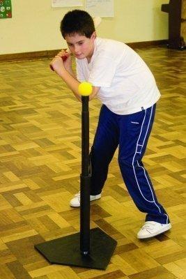Softball/Baseball Rrounders abilità pratica per T di battuta regolabile