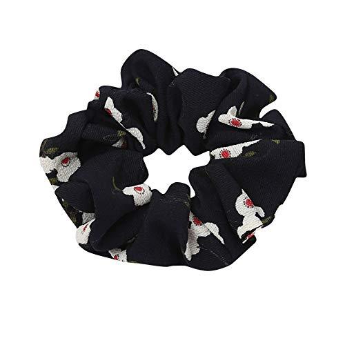 COZOCO 2019 Einfaches und nützliches Stirnband Frauen elastisches Haar Seil Ring Krawatte Scrunchie Pferdeschwanz Inhaber Haarband Stirnband Schwarz Freie - Kostüm Ringe Mit Stretch Bands