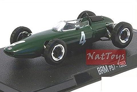 RBA BRM P57 1962 F1 Modellino Hill Auto DIE CAST 1:43