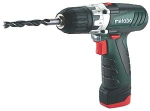 Metabo 6.00091.50 Kompaktschrauber PowerMaxx12 Basic 10,8V 2 Akkus