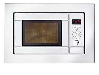 amica emw13190e mikrowelle 800 watt grill 1000 watt 20 l garraum edelstahl. Black Bedroom Furniture Sets. Home Design Ideas