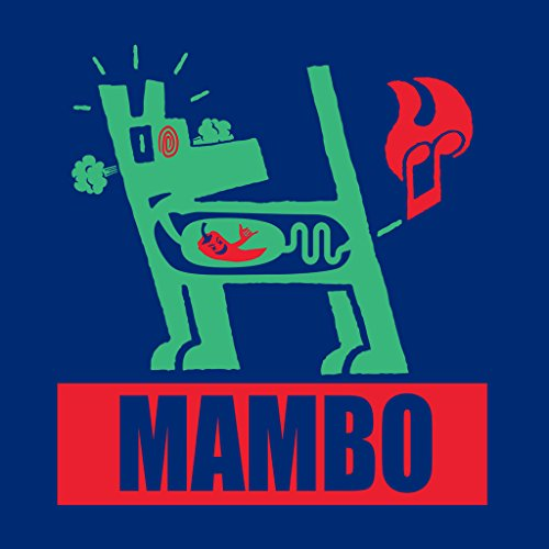 Mambo Farting Chili Green Dog Women's Sweatshirt Royal Blue