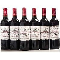 Château Gressier Grand Poujeaux 2016 - AOC Moulis - Vin Rouge - 6 bouteilles x 75cl - Signé Château Chasse Spleen