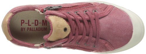 PLDM by Palladium Fabian, Baskets mode mixte enfant Rouge (Red)