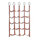 TARTIERY Garden Climbing Frame Net For Kids Indoor And Outdoor Playing, Pet, Plant Support, Cargo, Kids Rope Ladder With Wooden Rungs Ideal For Climbing Frame, Tree House, Dens And Play House