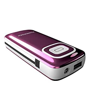 PowerGen 6000mAh External Battery Pack High Capacity Power Bank Charger Dual USB output (w/imbedded Micro USB) for Samsung S4 S3 S2 / Moto G X / Google Nexus 5 4 7 and Android Devices / Apple iPhone 5s 5c 5 4S 4 3GS, iPad Air iPad Mini iPad 4 3 2 [Lightning Cable NOT included]