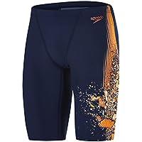 Speedo 8-09735C126 Bañador, Hombre, Azul (Navy/Fluo Orange), 30