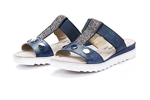 Remonte D1163, Ciabatte Donna Blu (Royal/lake/atlantis)