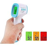 Termometro Frontale, Termometro a Infrarossi Portatile Senza Contatto, Letture Istantanee Accurate, Adatto a Bambini, Adulti, Cibo…