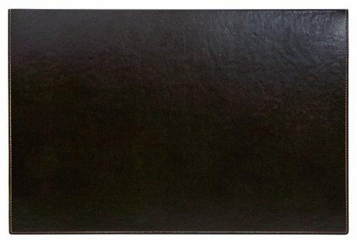 Sign Office Elyane - Tappetino pieghevole da scrivania, 600 x 400 mm, colore: Marrone scuro