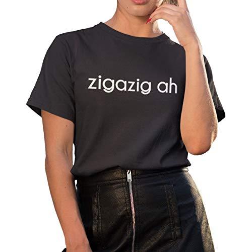 Damen Kurzarm T-Shirt - ZIGAZIG-AH - Band Festival T-Shirt
