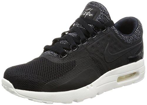 free shipping 5d898 3c5e6 Nike Uomo, Air Max Zero BR Black Pale Grey Anthracite, Tessuto Tecnico,  Sneakers