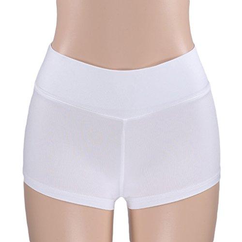 LnLyin Frauen Sport Butt Scrunch Push up Shorts Schlank Gym Workout Yoga Hot Pants (Butt Shorts)