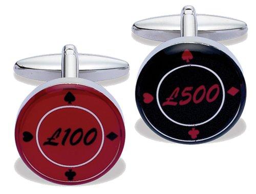 Code Red - 14977 - Boutons de Manchette Homme - Métal