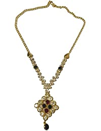 Jyesh Jewe Gold Color Necklace Set For Girls And Women(NK-0031)