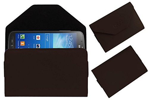 Acm Premium Pouch Case For Samsung Galaxy S4 Active I9295 Flip Flap Cover Holder Brown  available at amazon for Rs.329