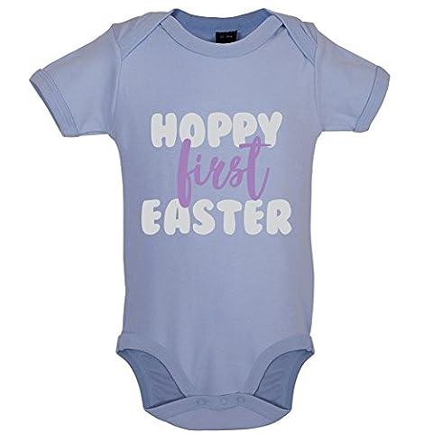 Hoppy First Easter - Marrant Bébé-Body - Bleu Clair - 12 à 18 mois