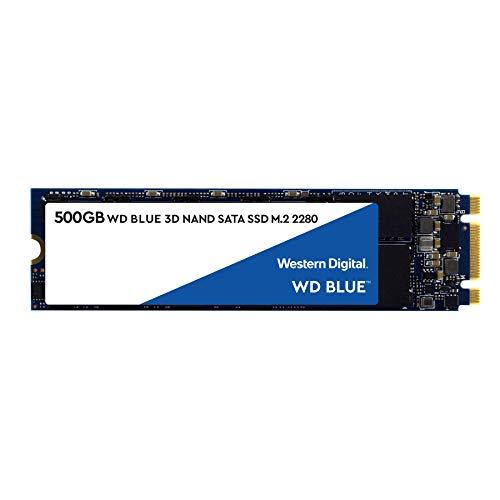 WD Blue 3D NAND SATA SSD Unità allo Stato Solido Interna M.2, 500 GB