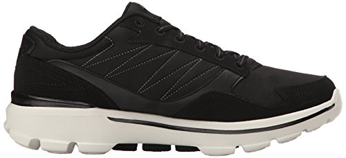 Skechers Go Walk 3, Baskets Basses Homme White/Black