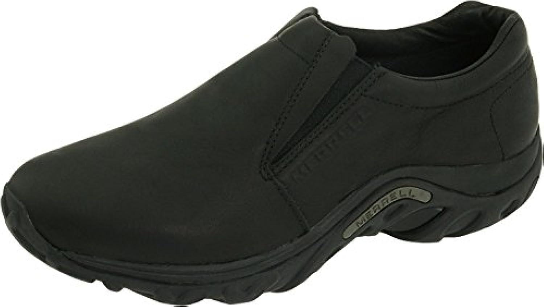 Merrell Men's Jungle Leather Slip-On Shoe, Midnight, 50 D(M) EU/14 D(M) UK