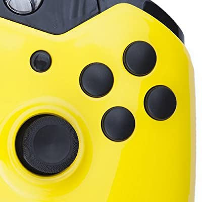 Xbox One Custom Controller - Yellow & Black Buttons