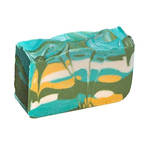 Green Tea Soap Bar - Organic Herbal Bar With Therapeutic Essential Oils. Moisturizing Body Soap For Skin And Face. With Shea Butter, Coconut Oil And Glycerin 4 OZ Soap