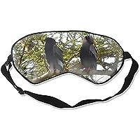 Schlafmaske aus natürlicher Seide, Augenbinde, super glatte Augenmaske (Bataleur Adler) preisvergleich bei billige-tabletten.eu