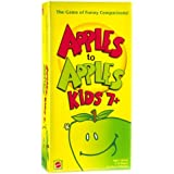 Mattel Apples to Apples Kids 7+ the Game of Crazy Comparisons
