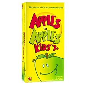 Mattel Apple To Apples Kids 7 Plus – The Game of Crazy Comparisons by