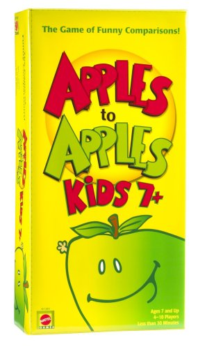 Apple To Apples Kids 7 Plus - The Game of Crazy Comparisons