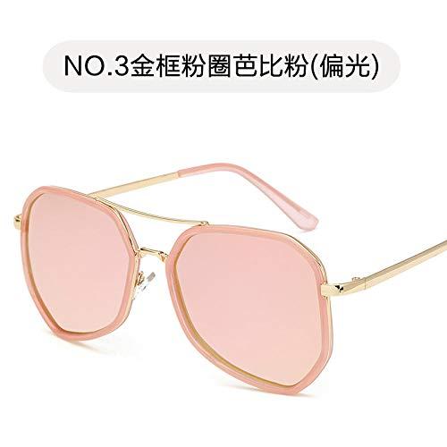 KOMNY Polarized Sunglasses_Clearance Werbesonnenbrille 5808 Trend Polarized Sonnenbrille Farbfilm Fashion Retro Sun @C_a